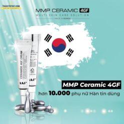 chống thâm nám MMP Ceramic 4GF bộ mỹ phẩm dưỡng da Hàn Quốc made in Korea