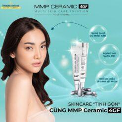 chống thâm nám MMP Ceramic 4GF bộ mỹ phẩm dưỡng da Hàn Quốc tinh gọn