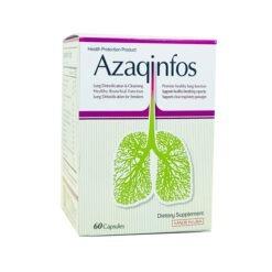 viên bổ phổi Mỹ Azaqinfos làm sạch ngăn ngừa nhiễm độc phổi thuoctotso1